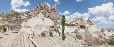 Ancient stone dwellings Royalty Free Stock Photos