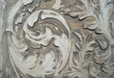 Ancient stone flower pattern, texture Royalty Free Stock Photos