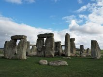 The ancient stone formation at Stonehenge. Stonehenge is an ancient stone circle in the heart of Wiltshire that predates written records. It is a major tourist stock images