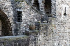 Ancient stone fortress royalty free stock image