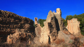 Ancient stone fortress Stock Image
