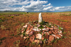 Ancient Stone Grave Royalty Free Stock Image