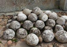 Ancient stone kernel Stock Photos