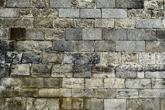 Ancient stone masonry seamless texture . Perfect for background.  royalty free stock photography