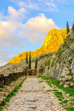 Ancient stone path Royalty Free Stock Image
