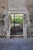Ancient Stone portal Stock Images