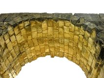Ancient Stone roman arch Royalty Free Stock Photo
