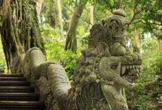 Ancient stone sculpture Stock Image