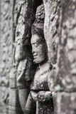 Ancient stone sculpture in Angkor Wat. Cambodia. Stock Photo