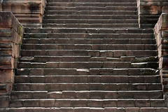Ancient stone stairs Royalty Free Stock Photography
