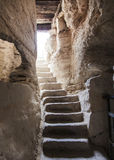 Ancient stone stairs Stock Images
