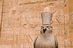 Ancient stone statue Royalty Free Stock Image