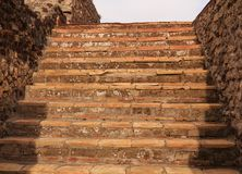 Free Ancient Stone Steps In Pompeii Royalty Free Stock Images - 117597689