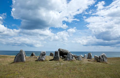 Ancient stone structure Stock Images