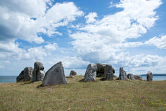 Ancient stone structure Stock Image