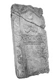Ancient stone tombstone Royalty Free Stock Images