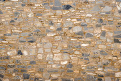 Ancient stone wall Royalty Free Stock Photography