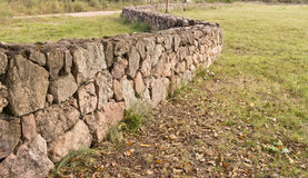 Ancient stone wall Stock Photos