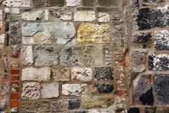 Ancient stone wall. Royalty Free Stock Photo