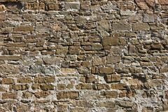 Ancient Stone Wall Background Royalty Free Stock Photo