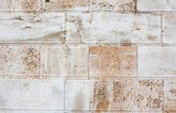 Ancient stone wall close-up. Stock Image