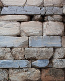 Ancient stone wall close-up. Stock Images