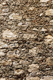 Ancient stone wall, detail Royalty Free Stock Image