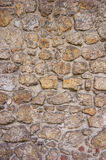 Ancient stone wall Royalty Free Stock Photos