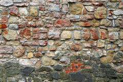 Ancient stone wall. Stock Photos