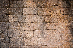 Ancient stone wall surface Royalty Free Stock Photos