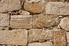 Ancient stone wall texture Royalty Free Stock Photo