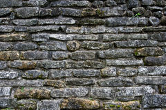 Ancient stone wall texture Stock Photos
