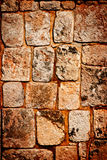 Ancient stone wall texture Royalty Free Stock Images