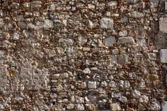 Ancient stone wall texture Royalty Free Stock Photos