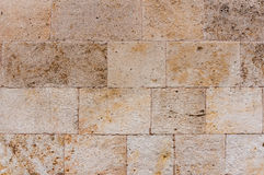 Ancient stone wall texture Stock Photo