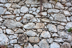 Ancient stone wall texture Royalty Free Stock Image