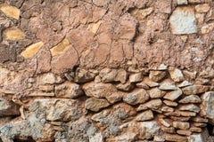 Ancient stone wall texture Stock Photos