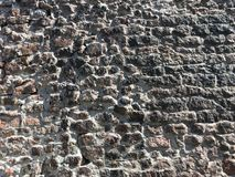 Ancient stone wall texture background Royalty Free Stock Photography