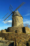 Ancient stone windmill of Collioure Royalty Free Stock Image