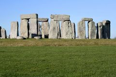 Ancient Stonehenge Stock Photography