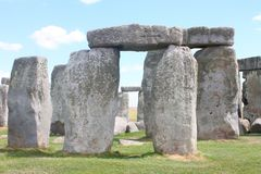 Ancient Stonehenge and Medieval Salisbury. This is one of the planet`s oldest world heritage Sites, Stonehenge which has been a place of pilgrimage for many stock photos