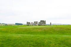 Ancient Stonehenge Stock Photo