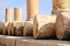 Ancient stones and columns Royalty Free Stock Photography