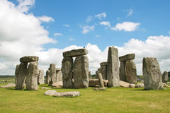 The ancient stones of stonehange Royalty Free Stock Photo