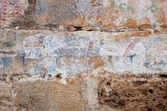 Ancient stonewall Stock Photo