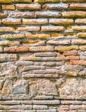 Ancient stonework made of rough, uneven blocks. Ancient stonework made of rough uneven blocks royalty free stock photo