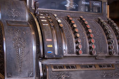 Antique Cash Register Royalty Free Stock Photo