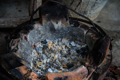 Ancient stove Stock Image