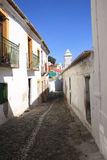 Ancient street. Street from Mertola a small village from Portugal Royalty Free Stock Images
