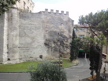 Ancient street, Avignon Stock Photography